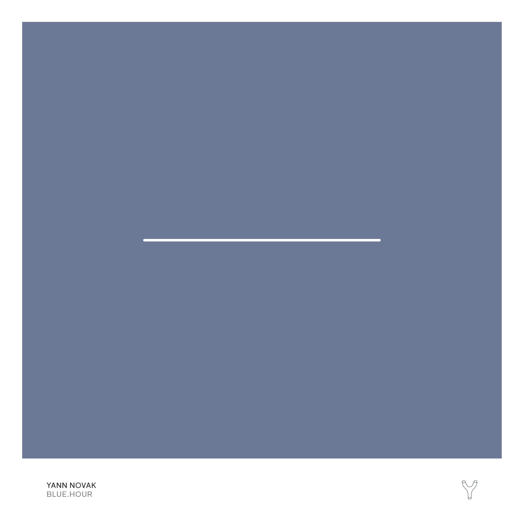 Yann Novak — Blue.Hour